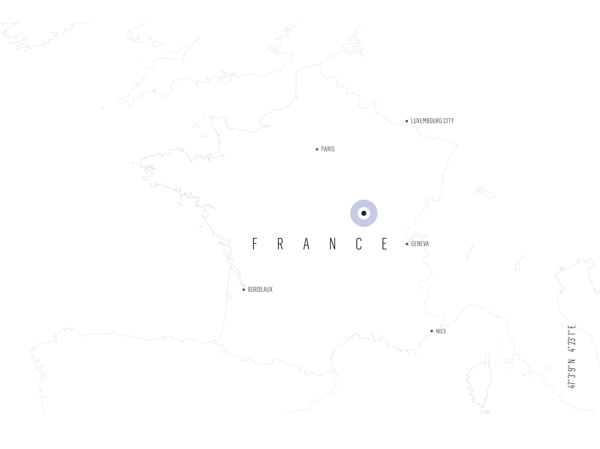 Map of Burgundy, France | Verve Wine