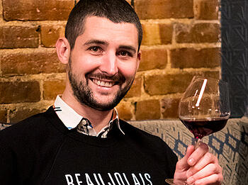 Meet Our Friend, Wine Director & Managing Partner at CdVS, Caleb Ganzer