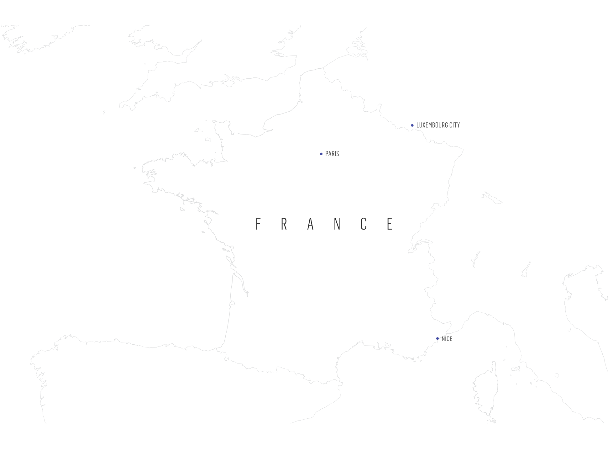 Map of France Wine Regions | Verve Wine