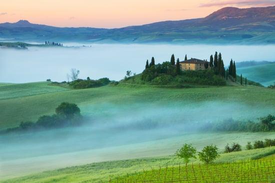 Map of Tuscany, Italy | Verve Wine