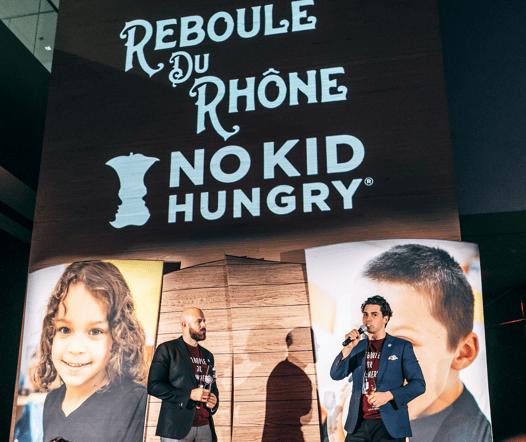 Thomas and Dustin speaking at Reboule Du Rhone 2018