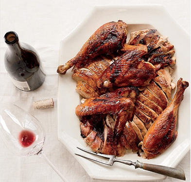 poultry and wine