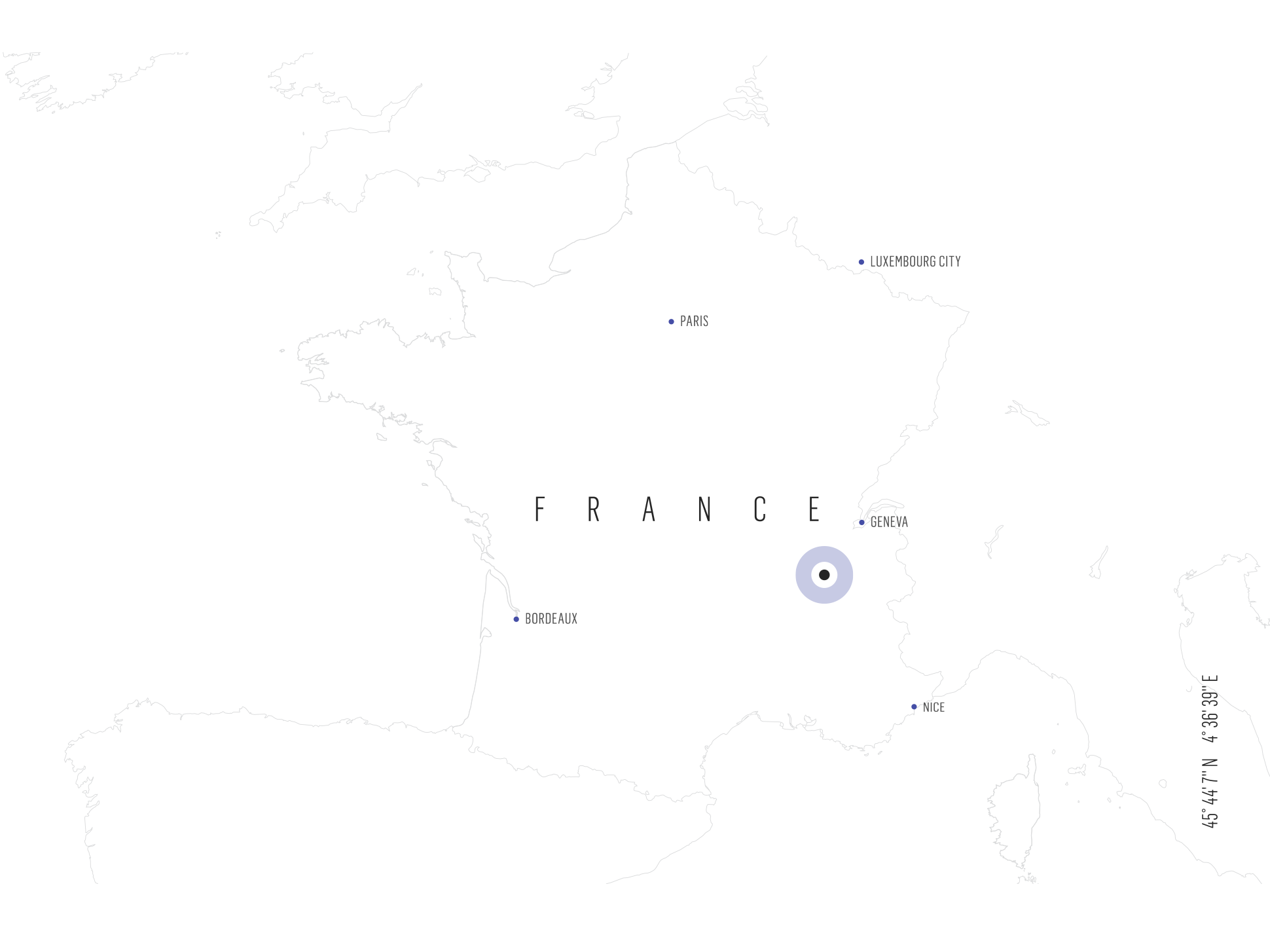 Map of Rhone, France | Verve Wine