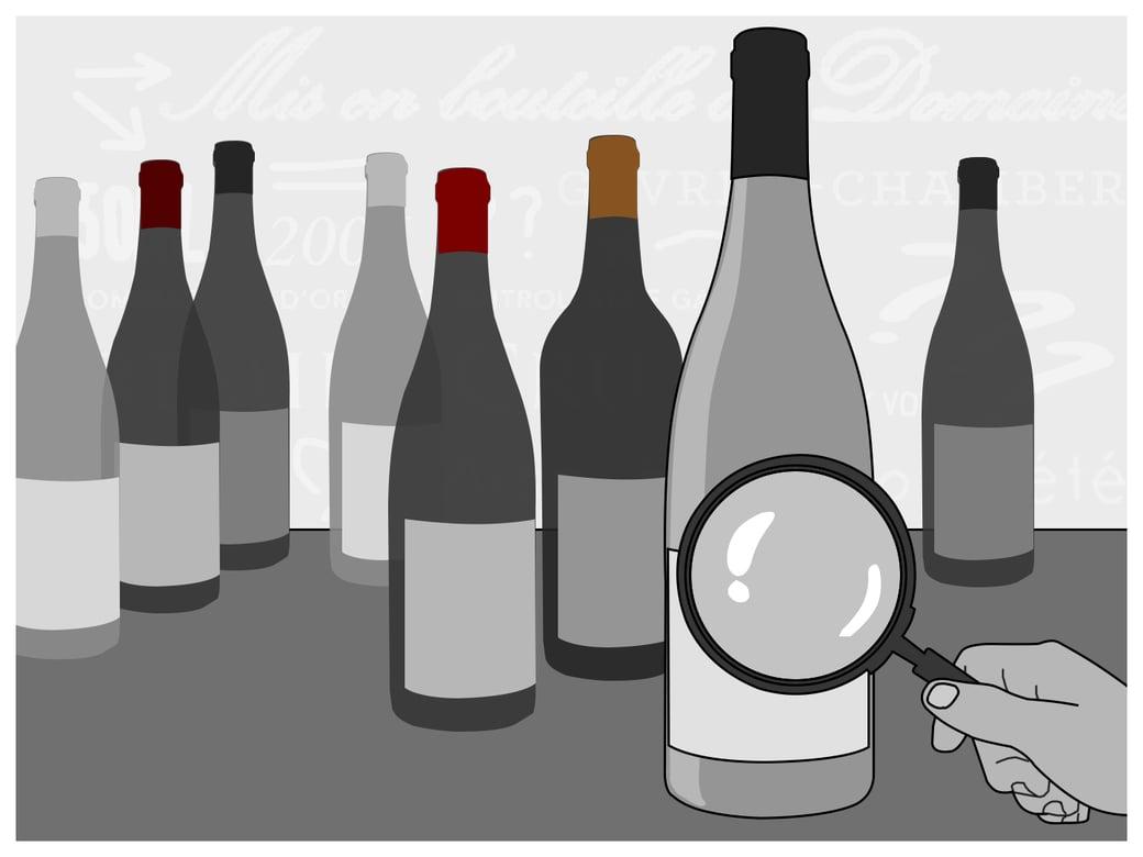 wine label blog